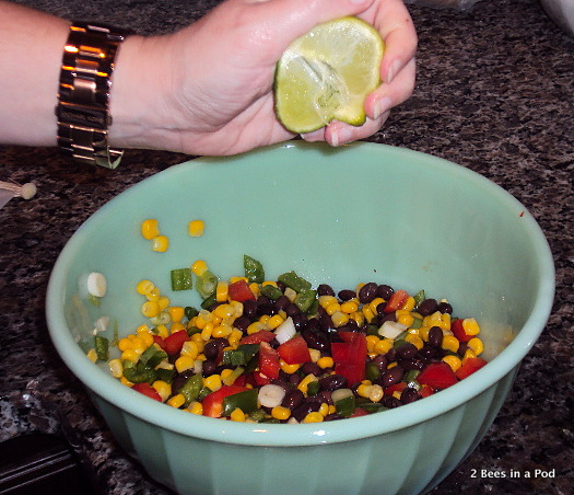 Fresh Lime Juice for Weight Watchers Southwestern Chicken Salad