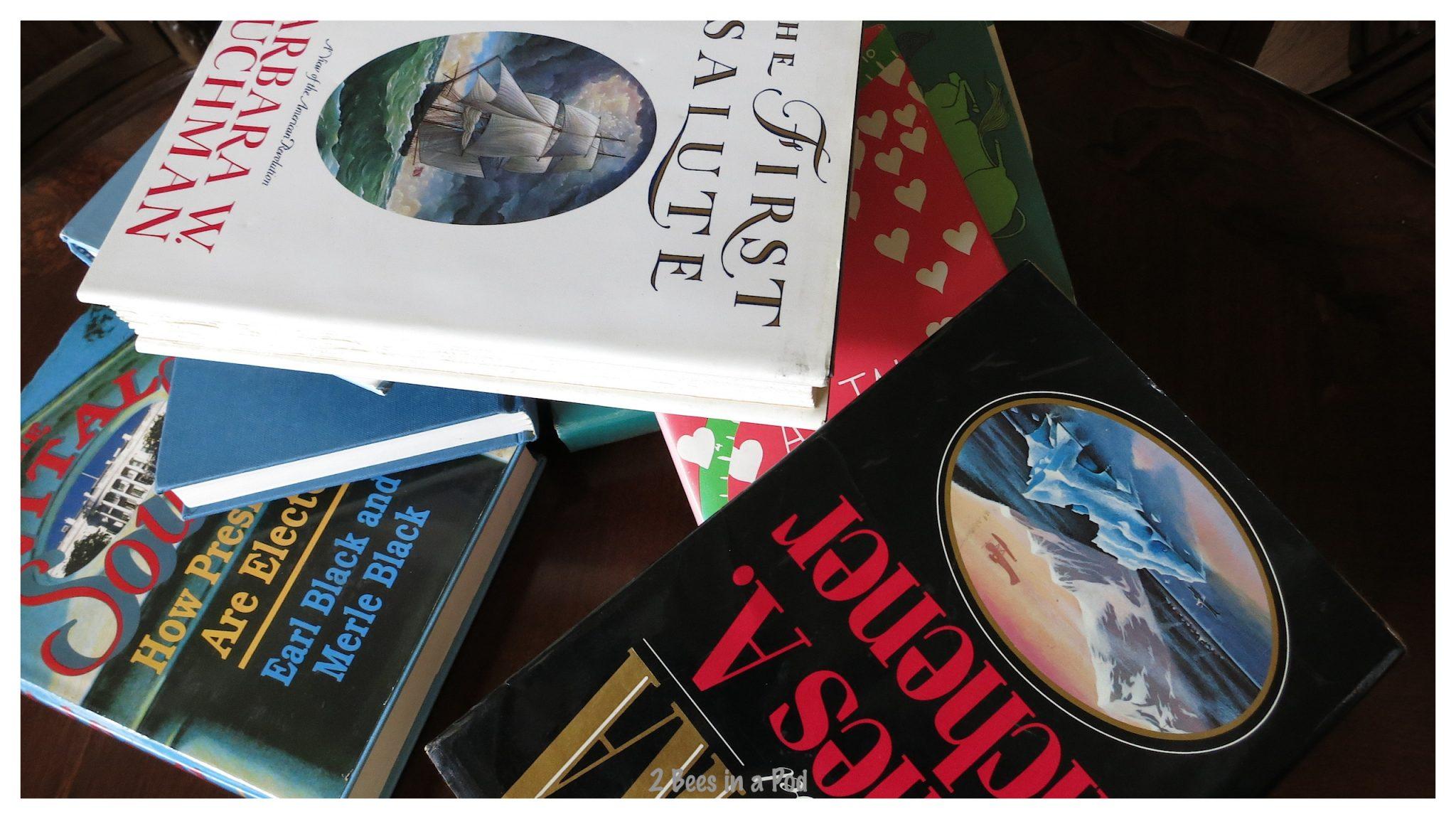 Book Pile - 25 cents each :)