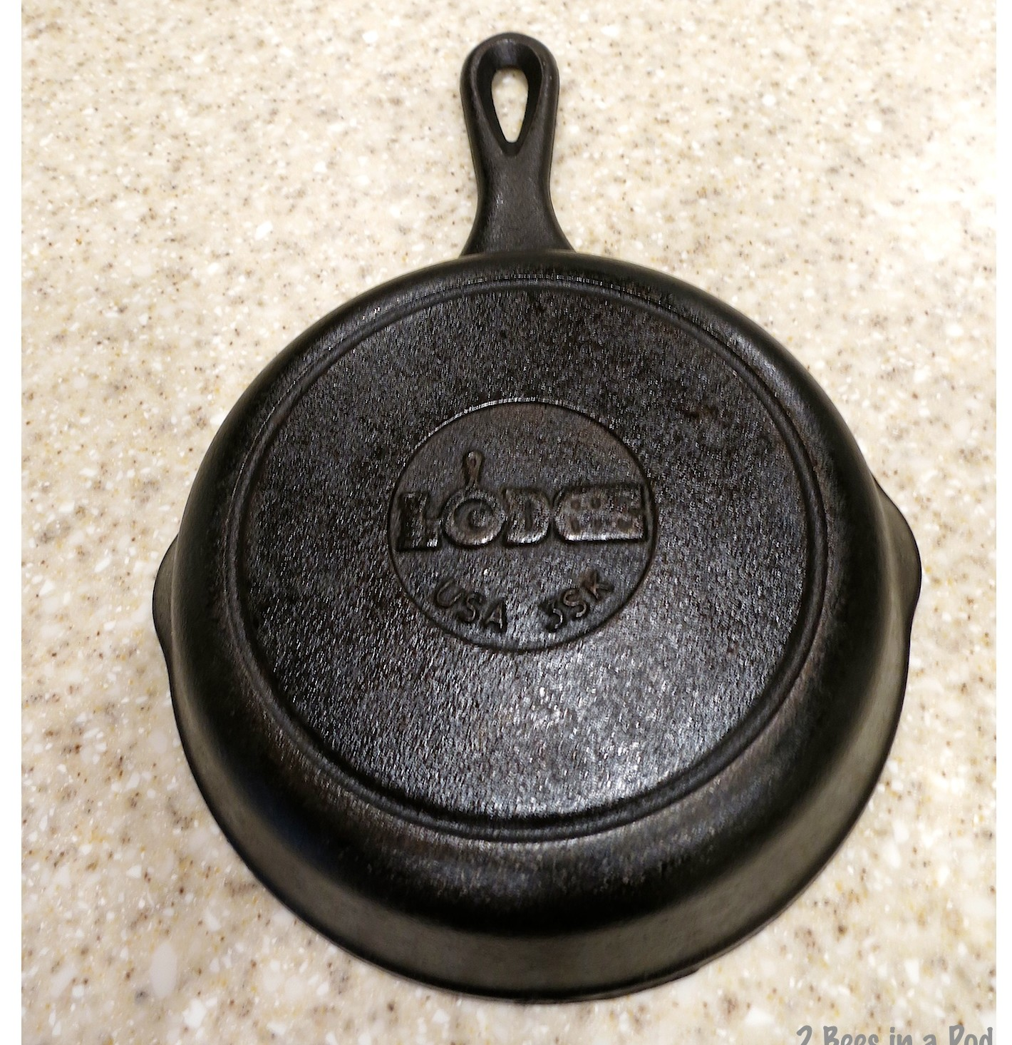 Restored cast iron