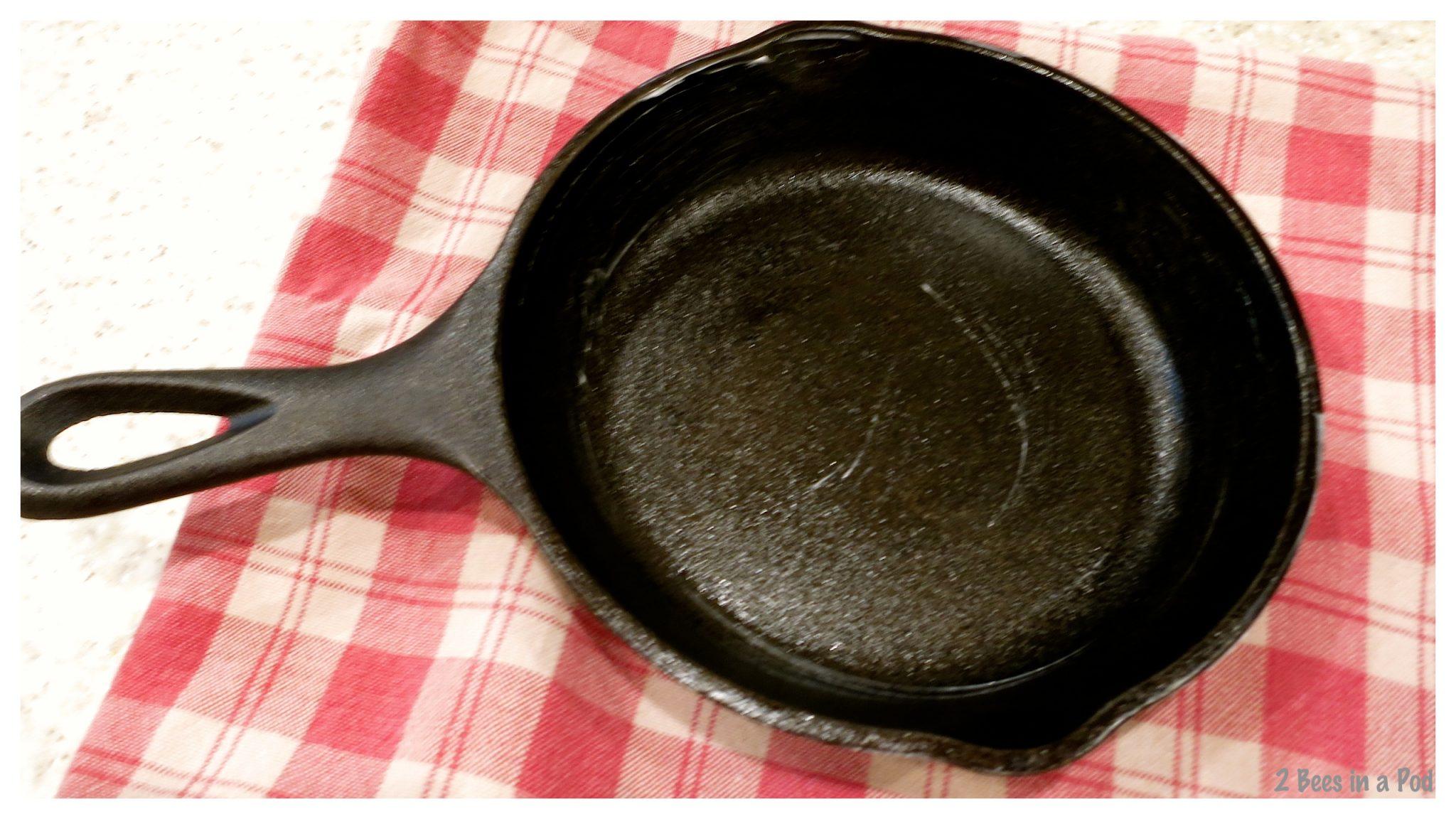 reviving your cast iron skillet