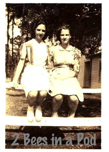 Geniece and  her sister Lucille - my great aunts