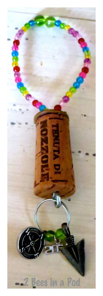 Yes, you can have a wine bottle charm - even for camping
