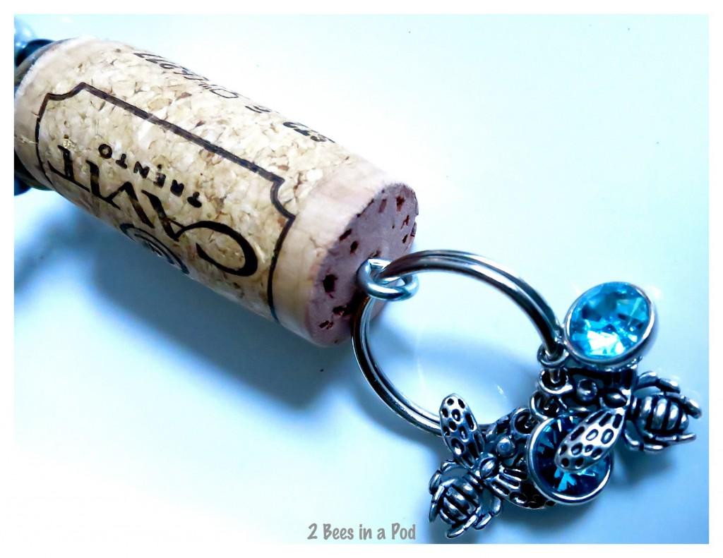 A wonderful keepsake - wine bottle charm