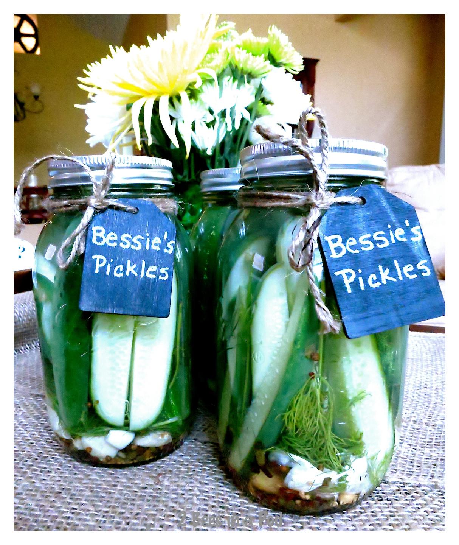 Bessie's Pickles…