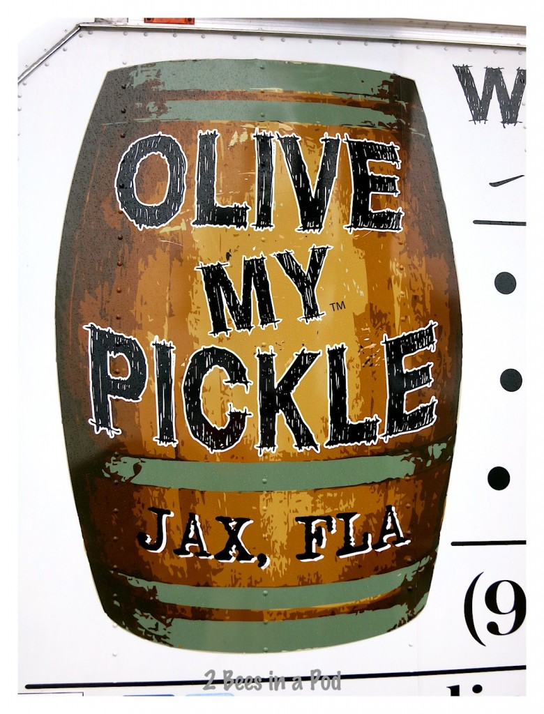 Olive My Pickle was an exhibitor at the St. Augustine Beach farmers market