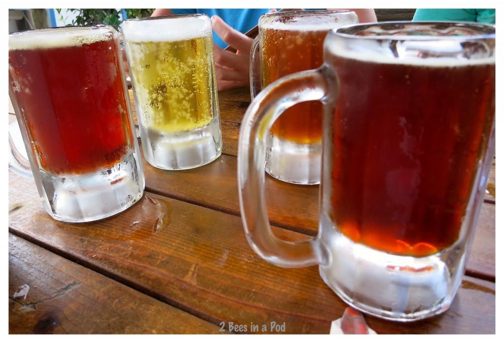 St. Augustine, Florida at Florida Cracker served Marker Mile Beer - so good and refreshing