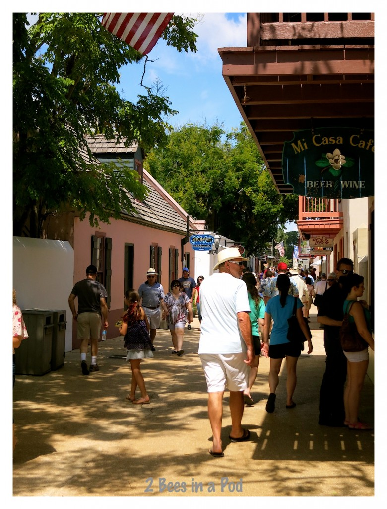 Shopping in historic St. Augustine