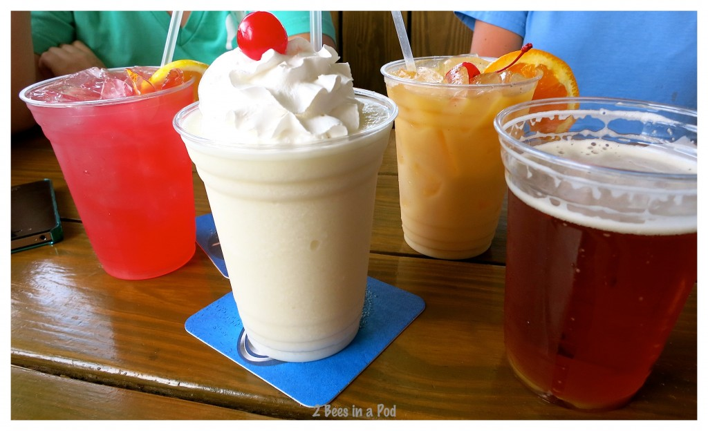 Nothing better to cool us off after a day at the beach in St. Augustine at Sunset Grille