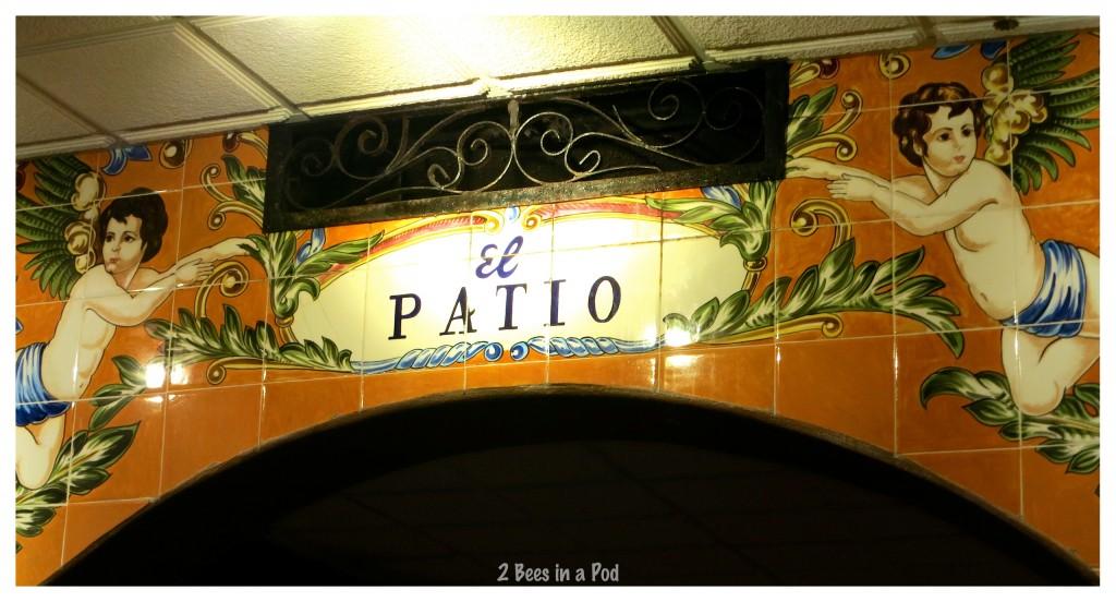 Authentic Spanish tiles decorate the Columbia Restaurant in St. Augustine, Florida