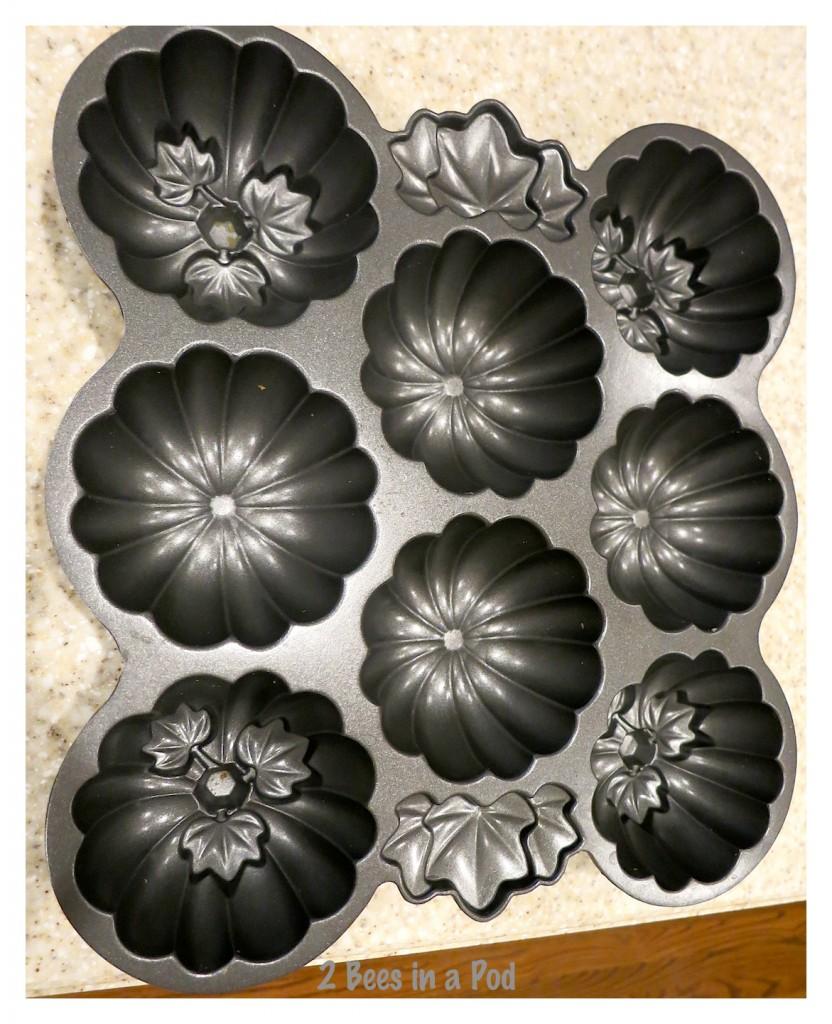 Cute Fall muffin pans