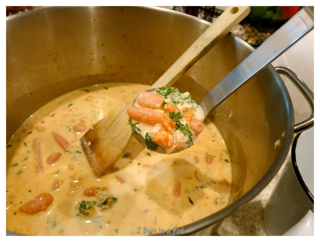 Creamy Thai Carrot Soup - ready to meld all of the creamy ingredients - wonderful Weight Watchers recipe