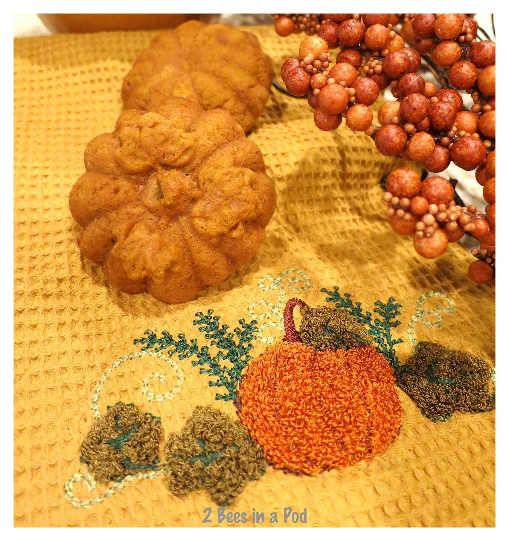 These pumpkin spice muffins are weight watchers friendly!