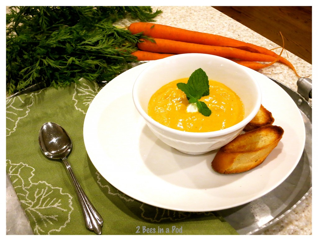 Creamy Thai Carrot Soup - packed with flavor and its healthy!