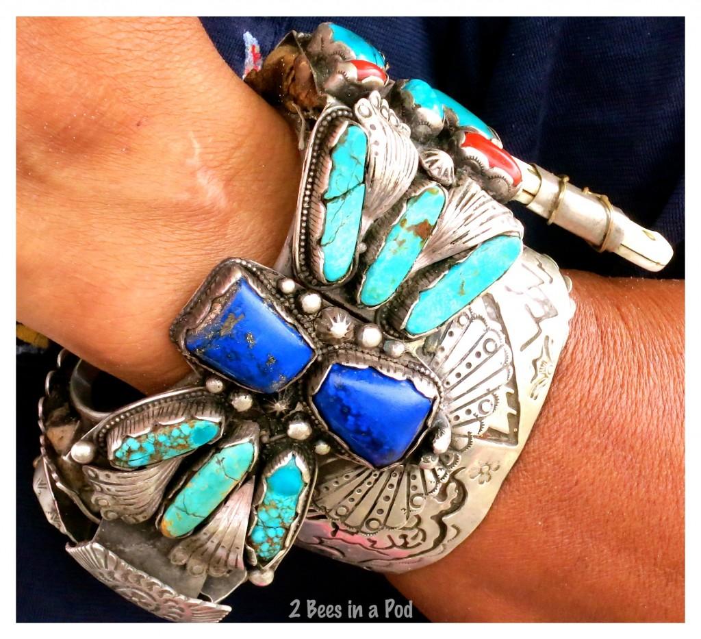 Chiaz - a Navajo Native American that makes fabulous jewelry - 100% handmade
