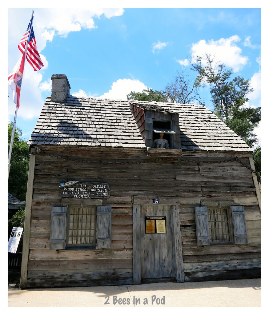 America's Oldest Schoolhouse - in St. Augustine, Florida