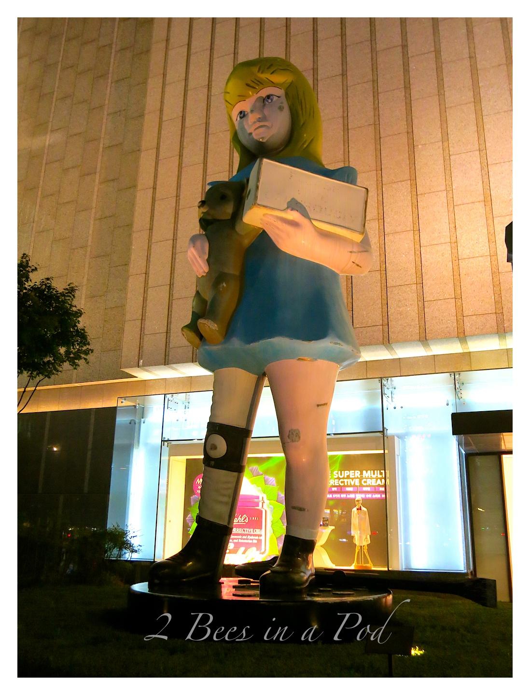 Giat art sculpture in Jeonong, South Korea