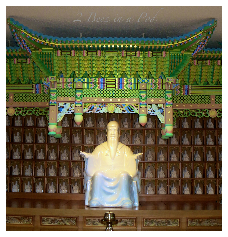 A temple in Seoul