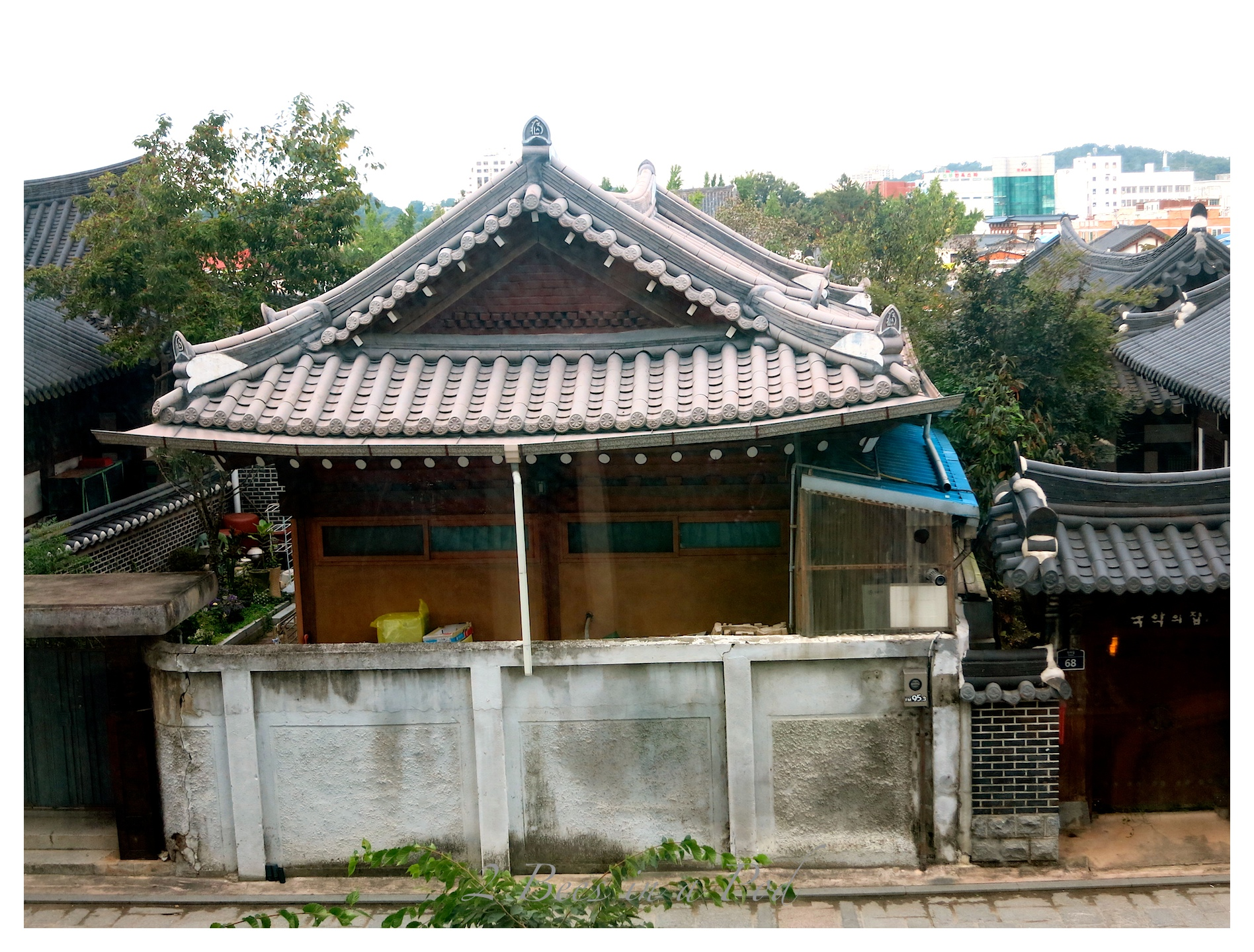 Traditional Korean home and architecture