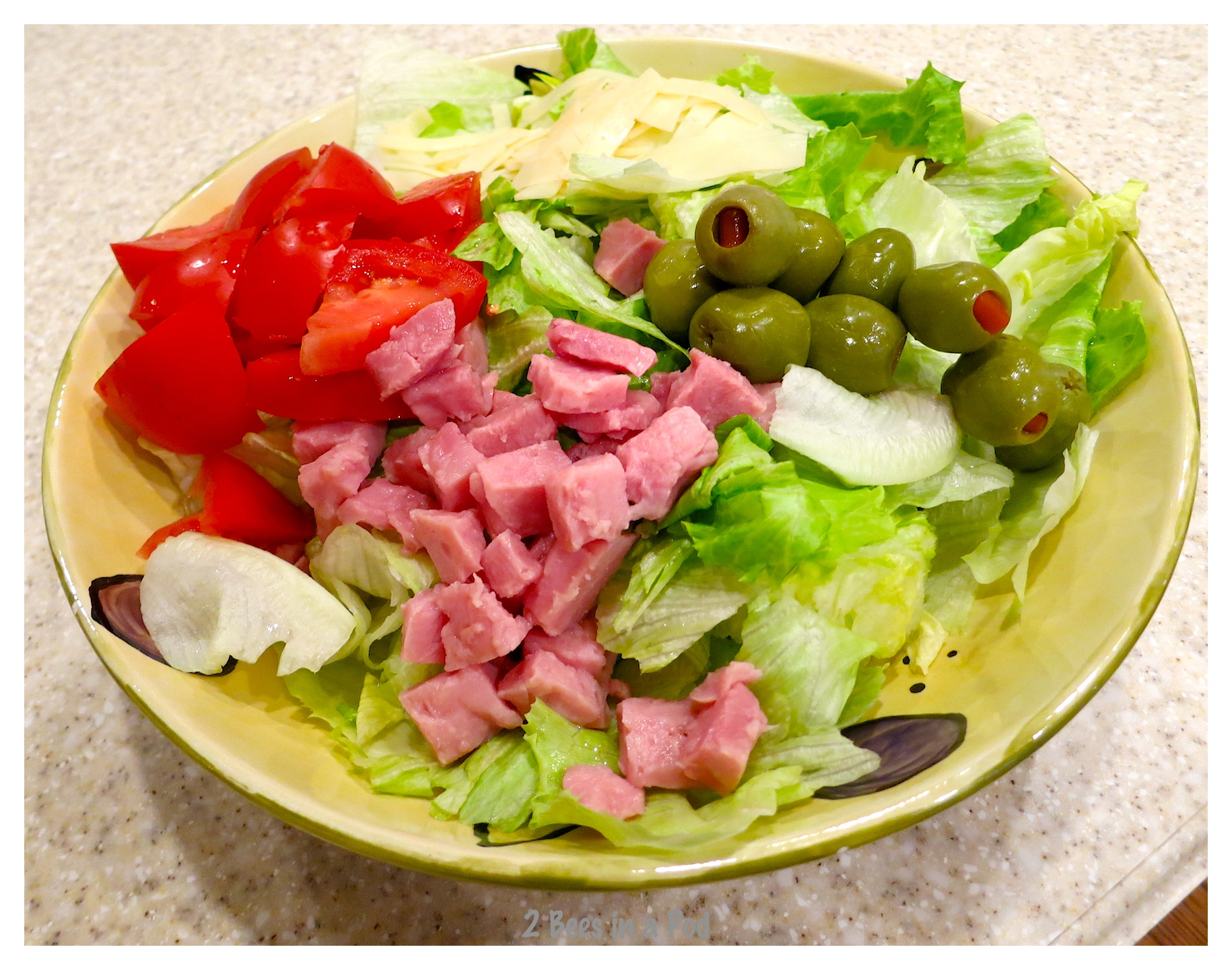 """Recipe from the Columbia Restaurant - """"1905"""" Salad"""
