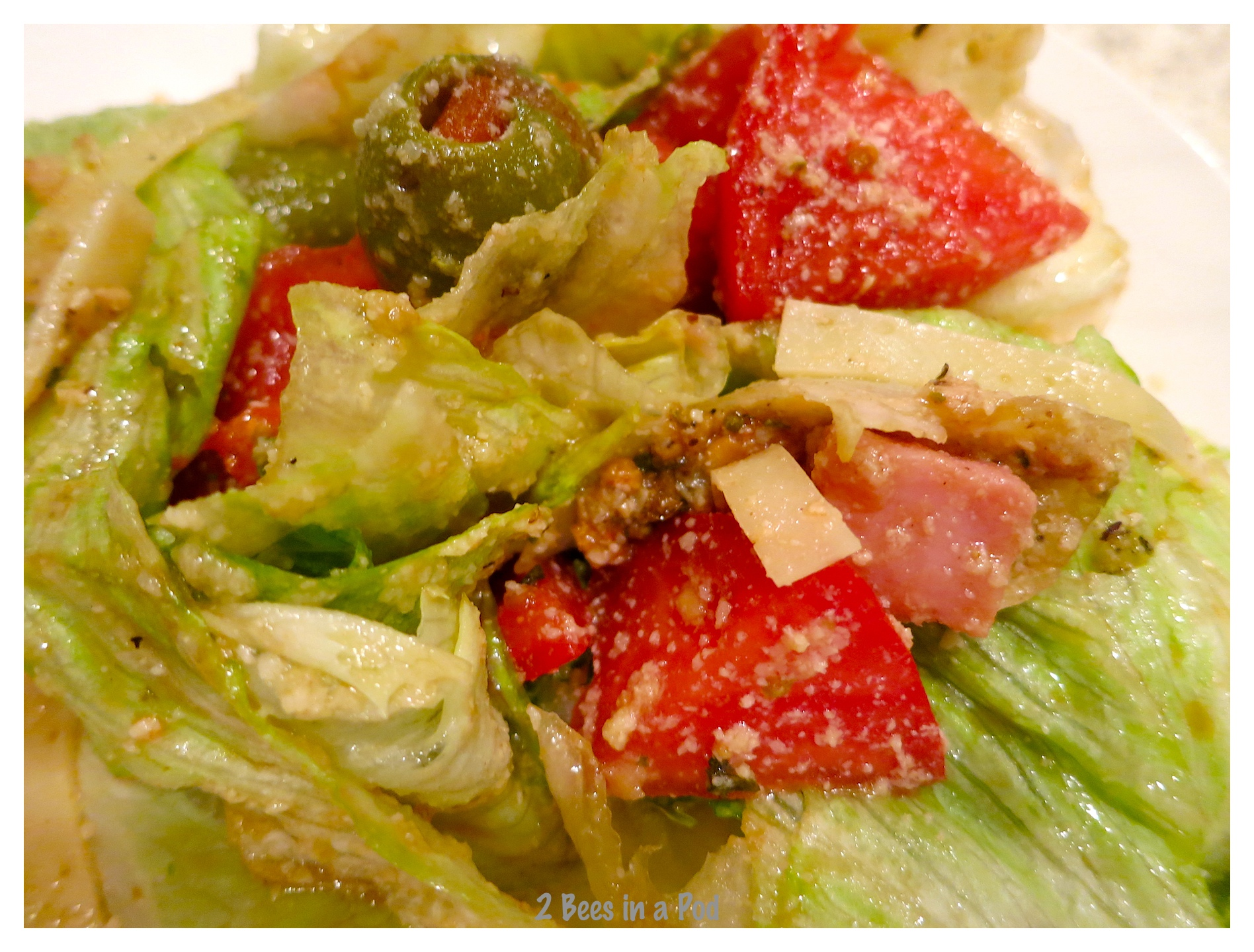"""All tossed and ready to serve..Recipe from the Columbia Restaurant - """"1905"""" Salad"""