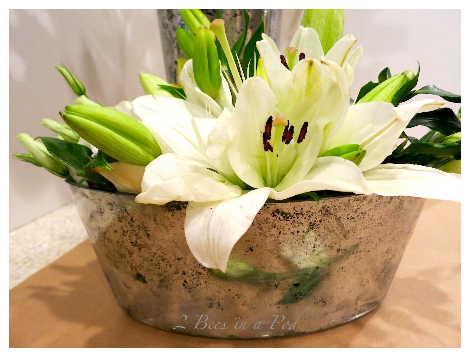 DIY Mercury Glass Vases…
