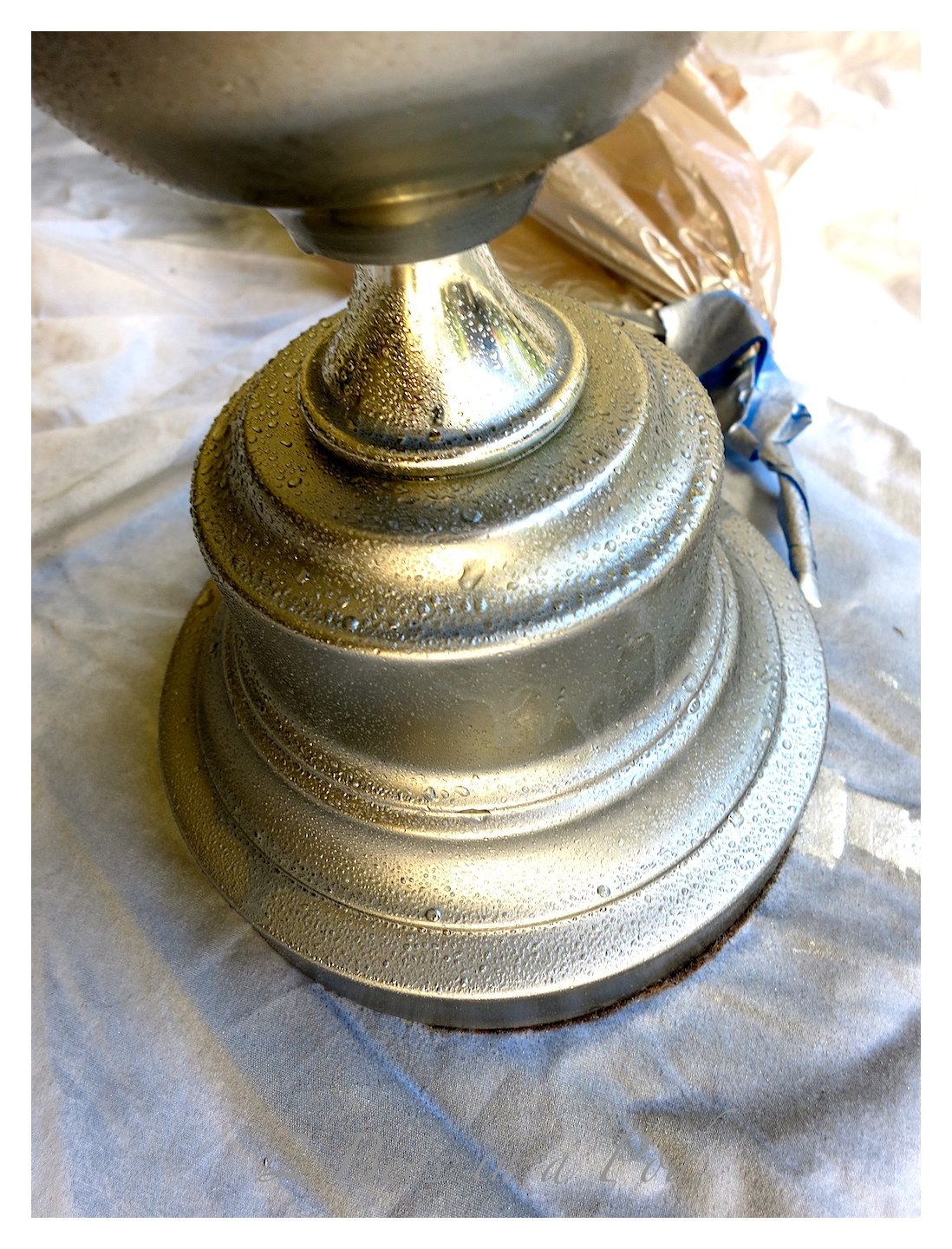 Remove Paint From Brass Lamp