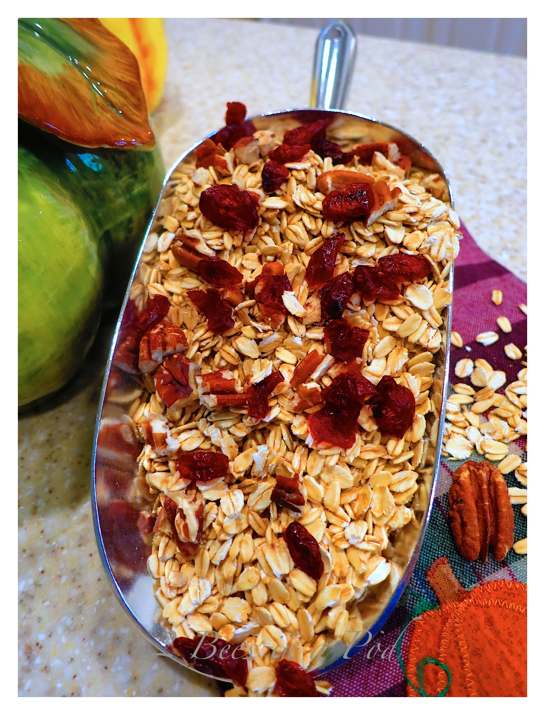 Southern Pecan Pumpkin Spice Granola - and it is Weight Watchers friendly!!