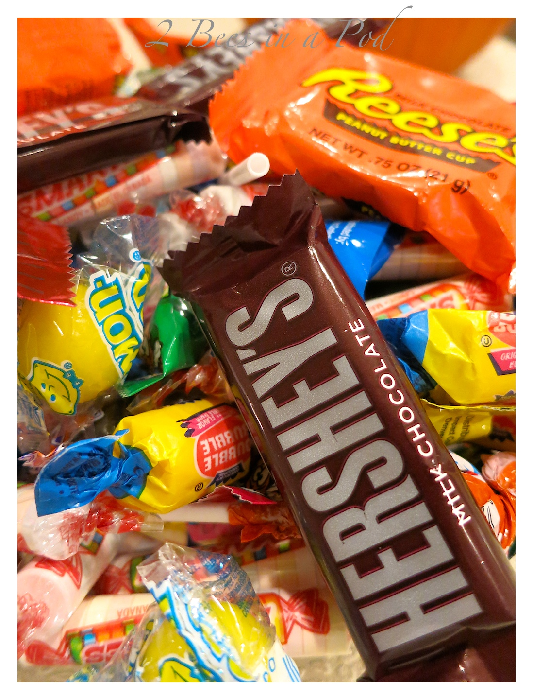 Halloween candy...