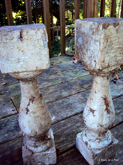 Balusters I found a walk in my neighborhood...in need of some tlc and cleanup