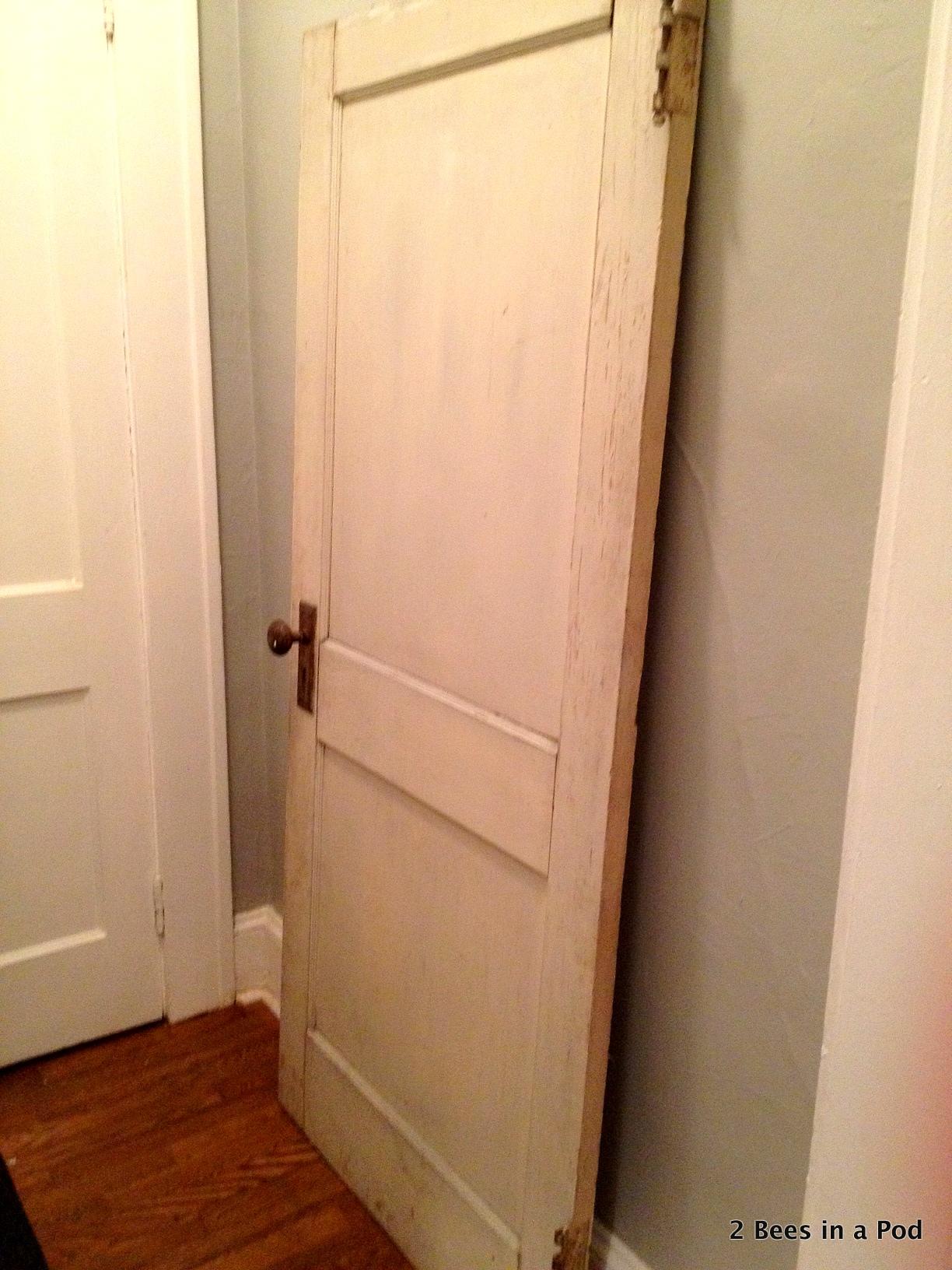 Original door from 1908