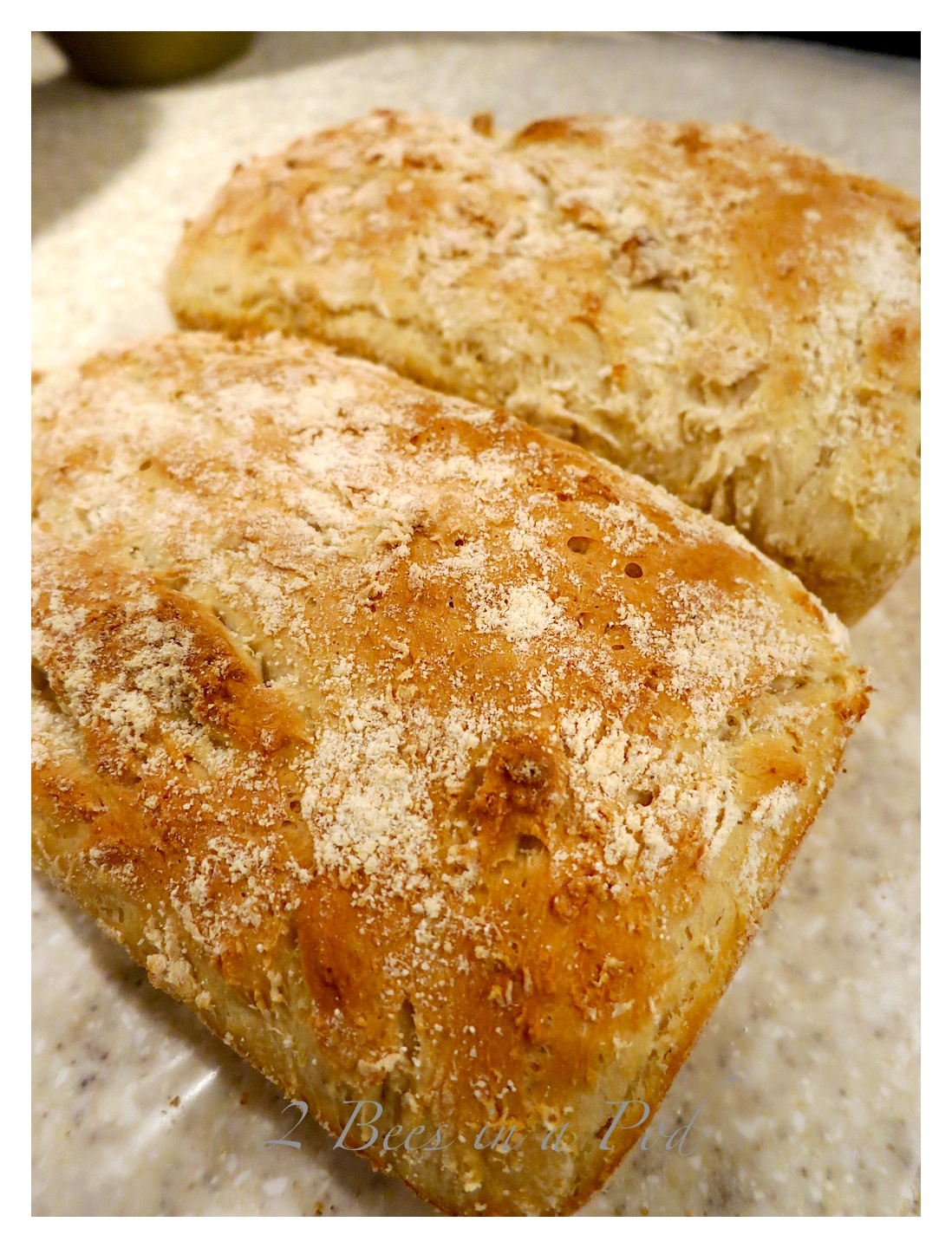English Muffin Bread - Easy to make and this bread freezes very well. It's great to make ahead for your overnight guests...