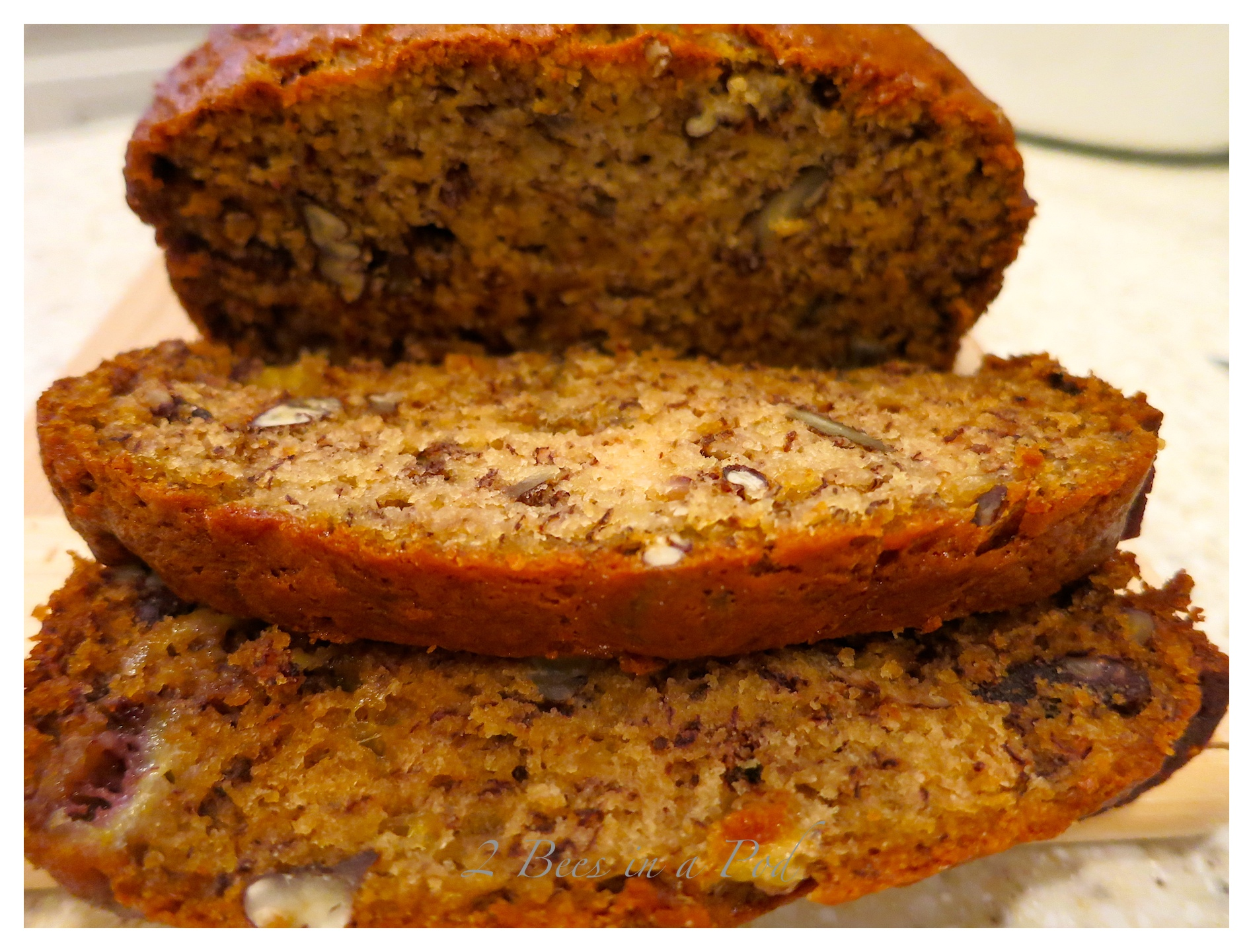 Georgia Pecan Banana Bread and Cinnamon Butter…