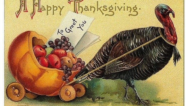 Happy Thanksgiving from our homes to yours…