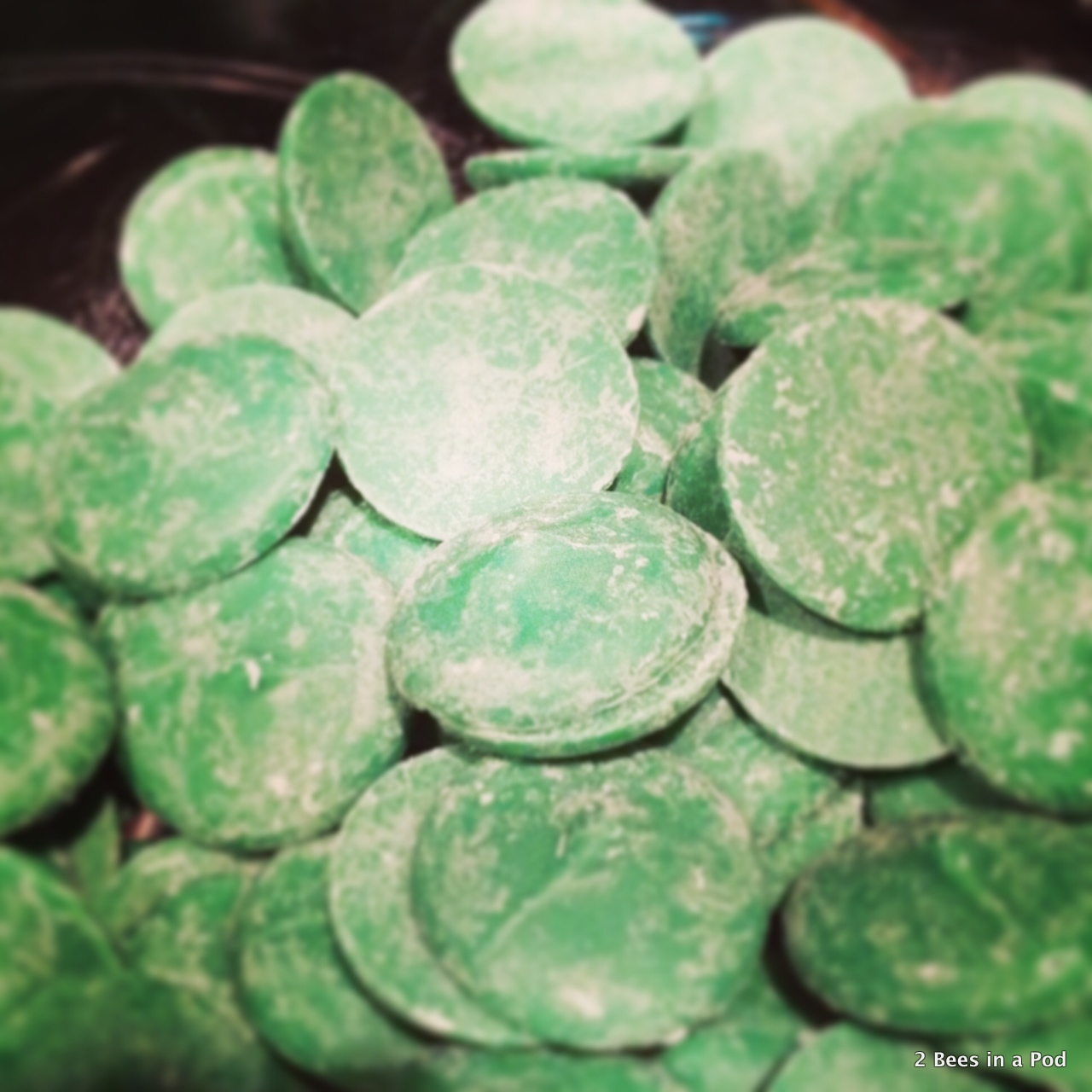 Candies that you will melt for mint oreos