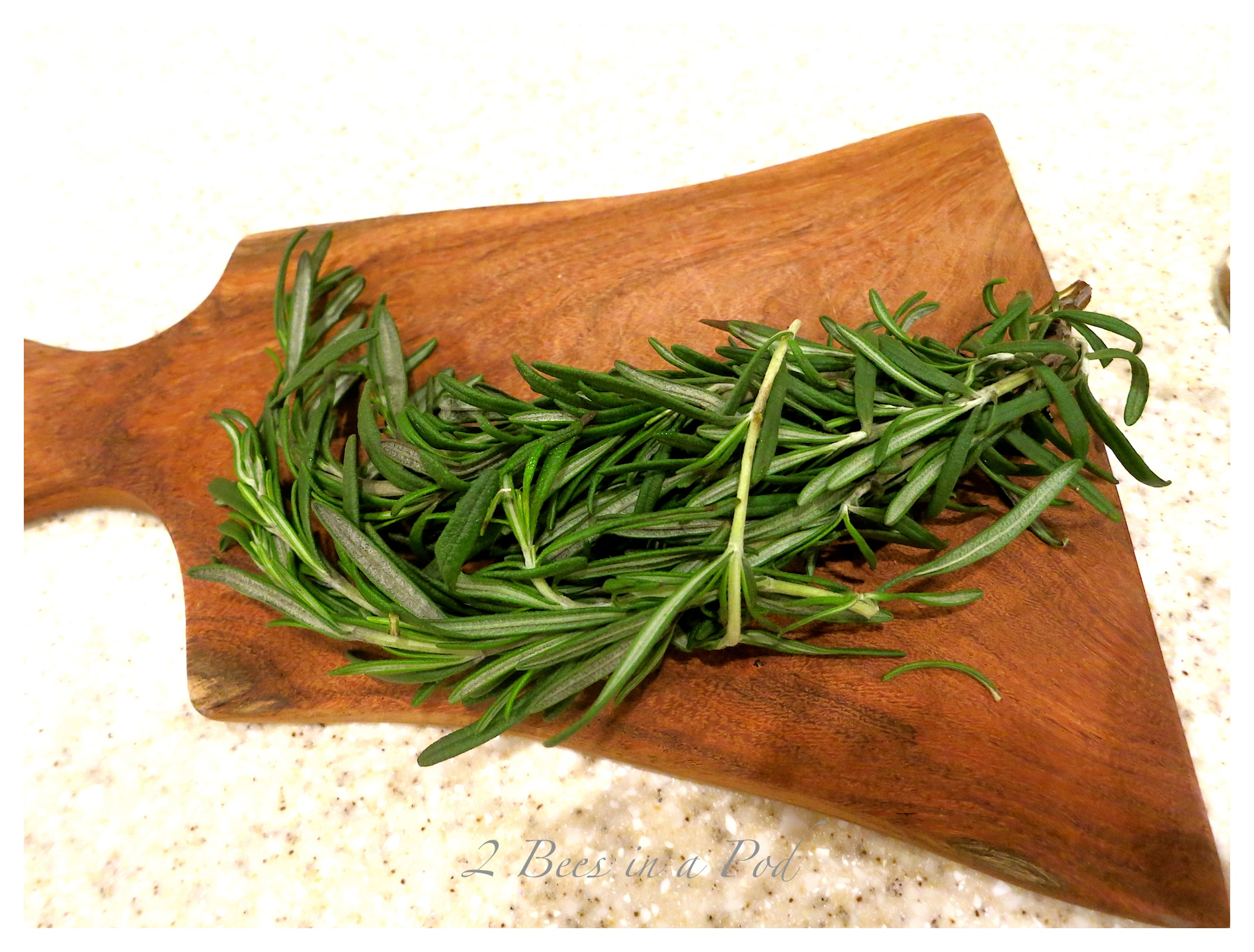 Fresh Rosemary really enhances the flavor in the Peppery Peanuts...a perfect Christmas gift.