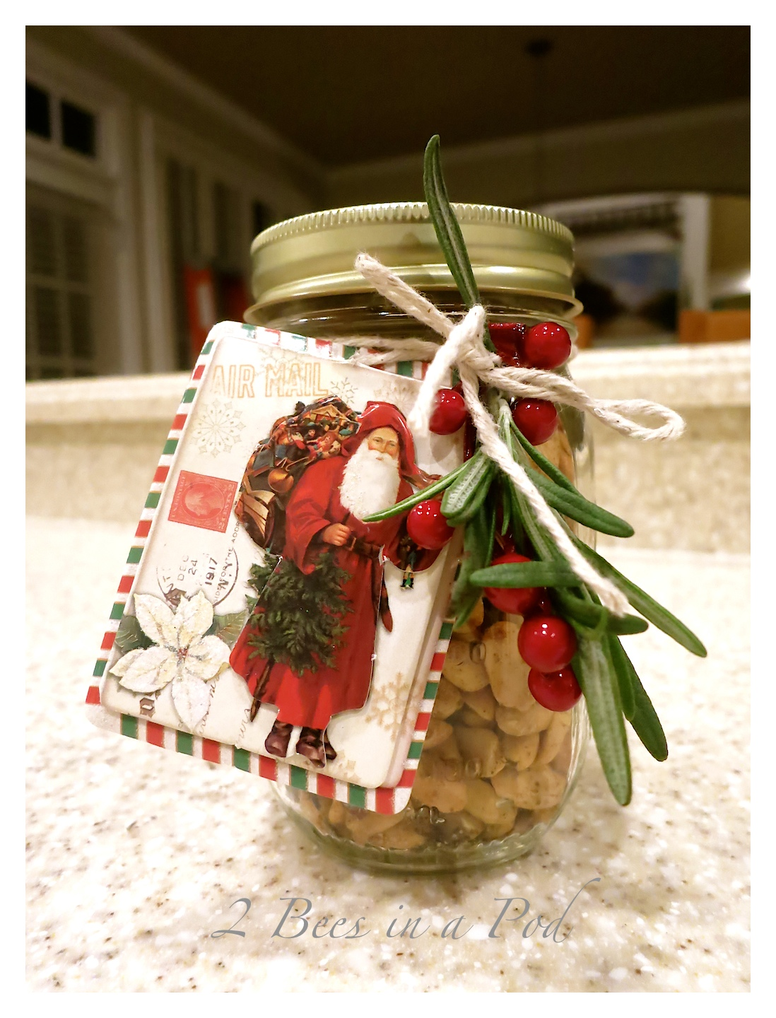 Peppery Peanuts…Perfect Holiday Gift and Treat