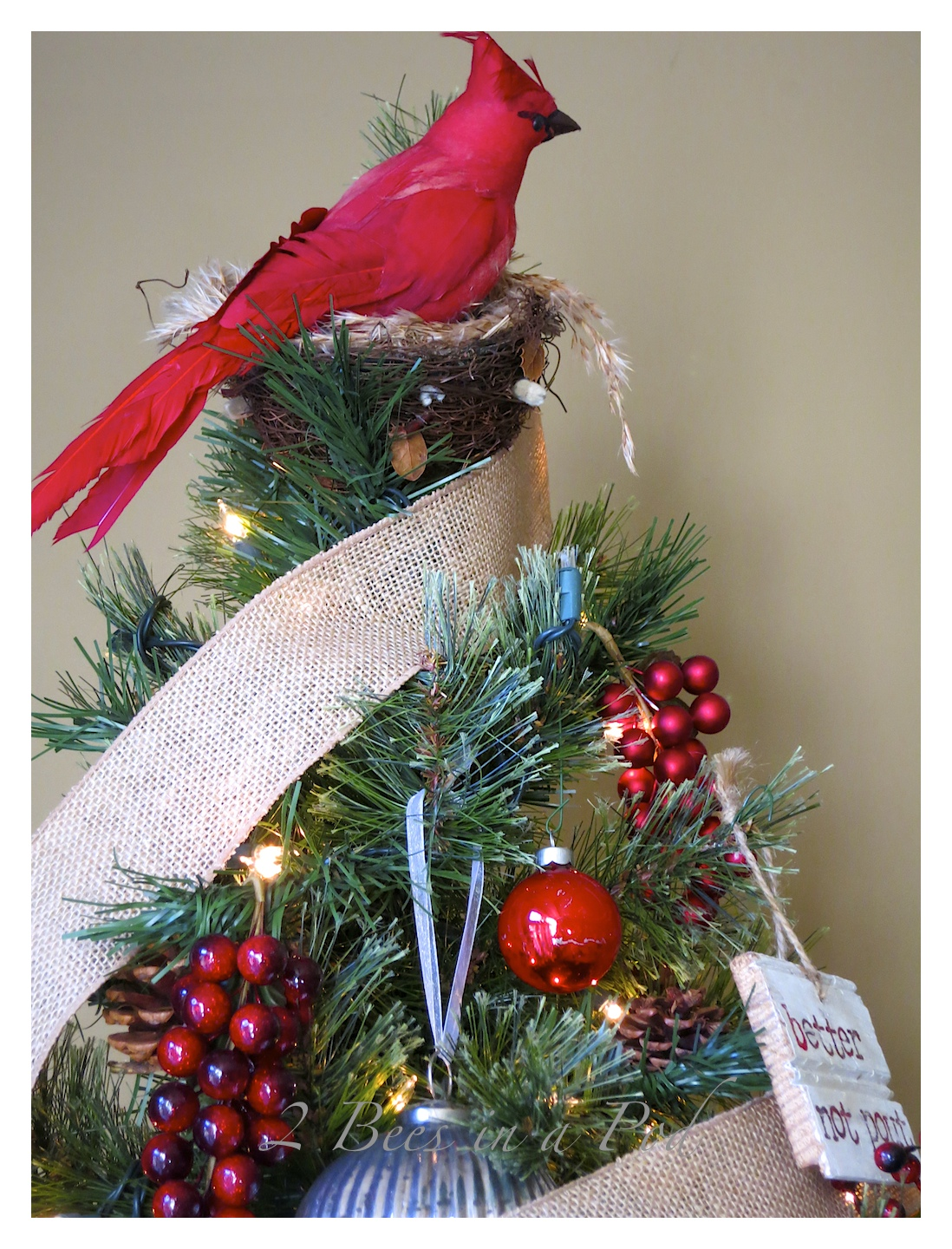 Rustic Christmas - I love the crusty, rusty, chippy and warmth that rustic elements bring to my home for Christmas!