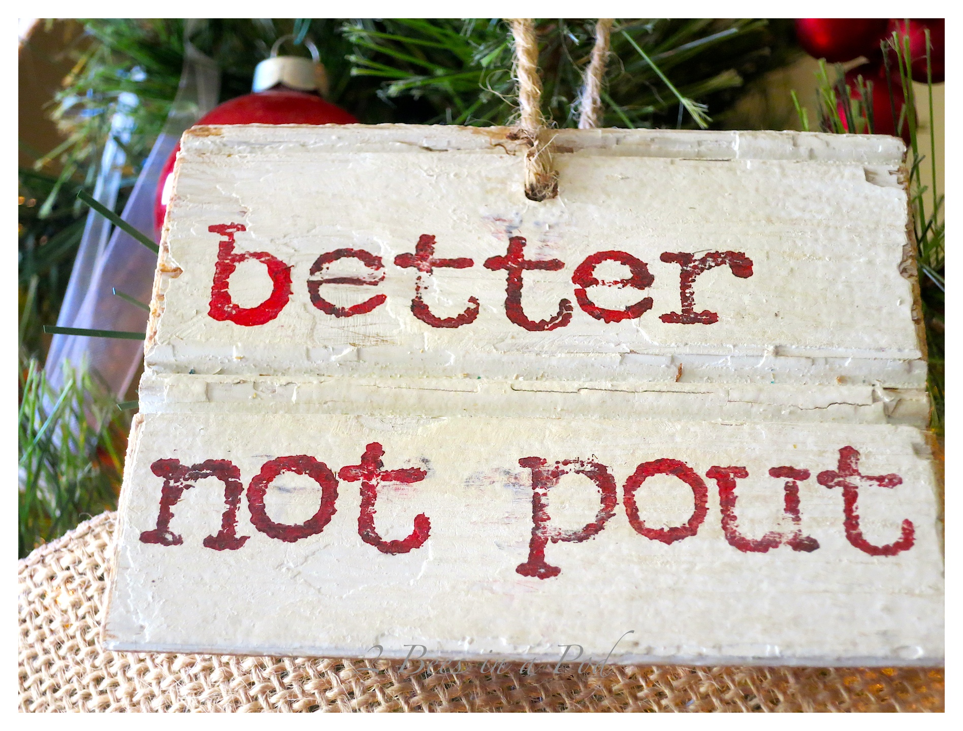 Scrap wood message :)Rustic Christmas - I love the crusty, rusty, chippy and warmth that rustic elements bring to my home for Christmas!