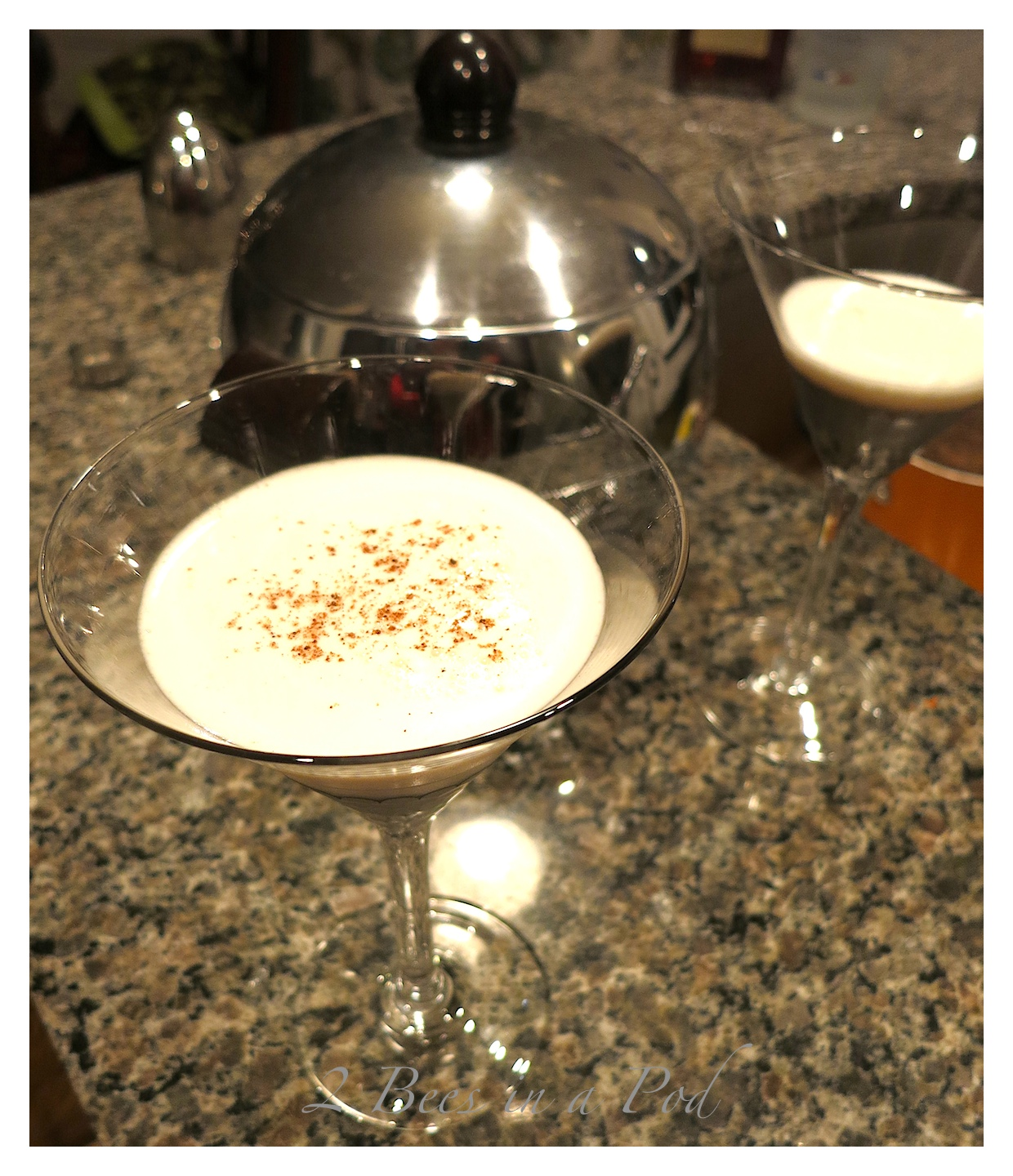 Christmas Cocktail – Let It Snowtini Martini Recipe