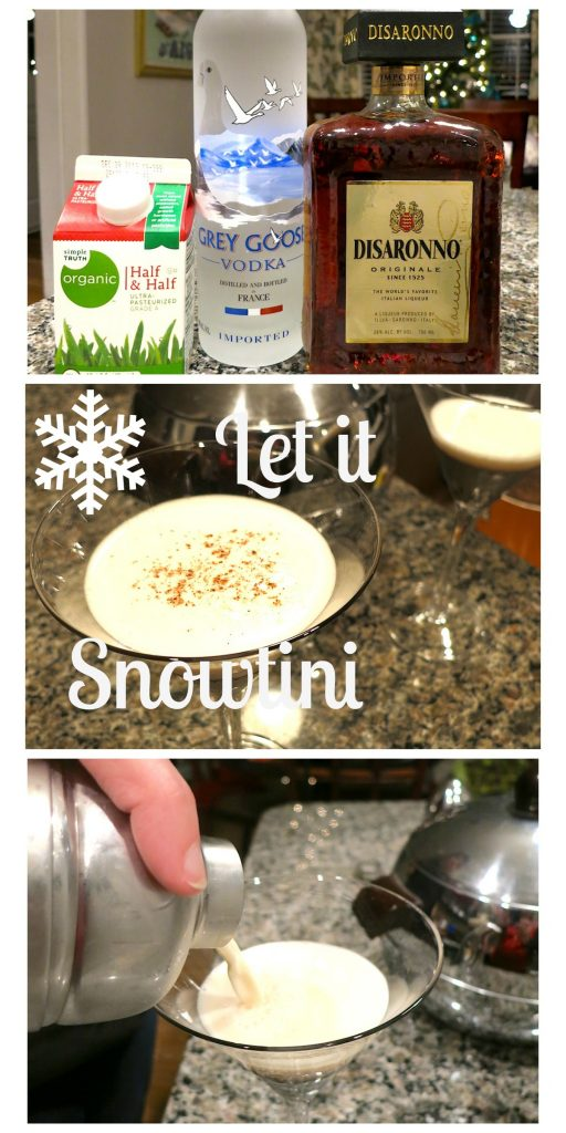 Let it Snowtini Cocktail
