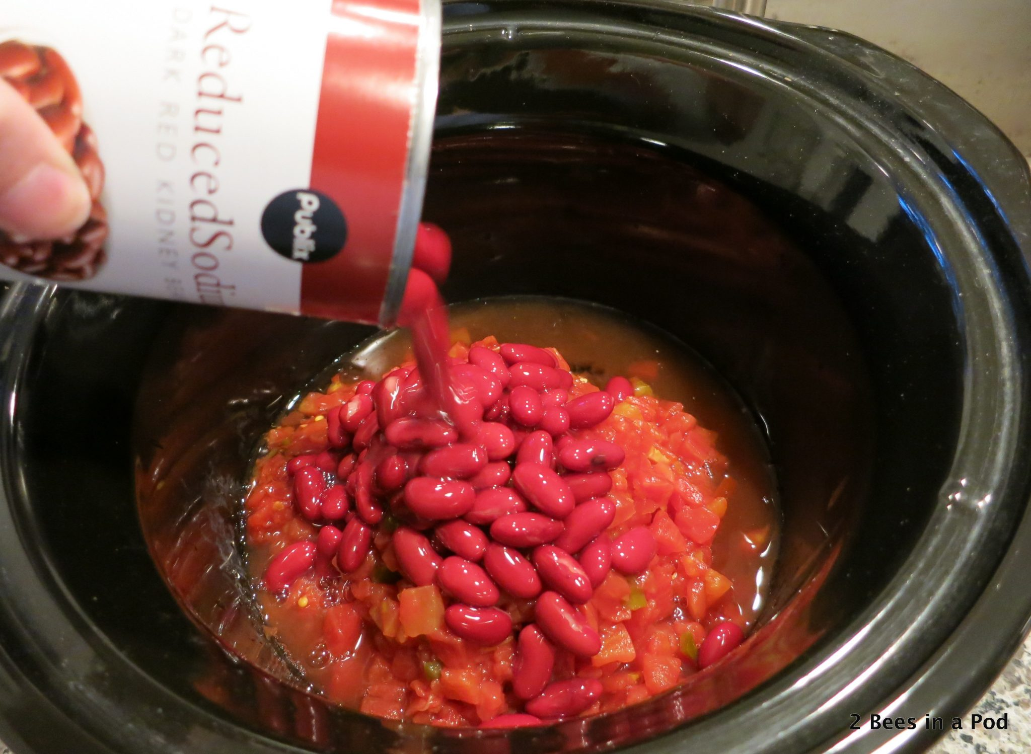 DKidney Beans for Crock Pot Chicken Taco Chili - Weight Watchers
