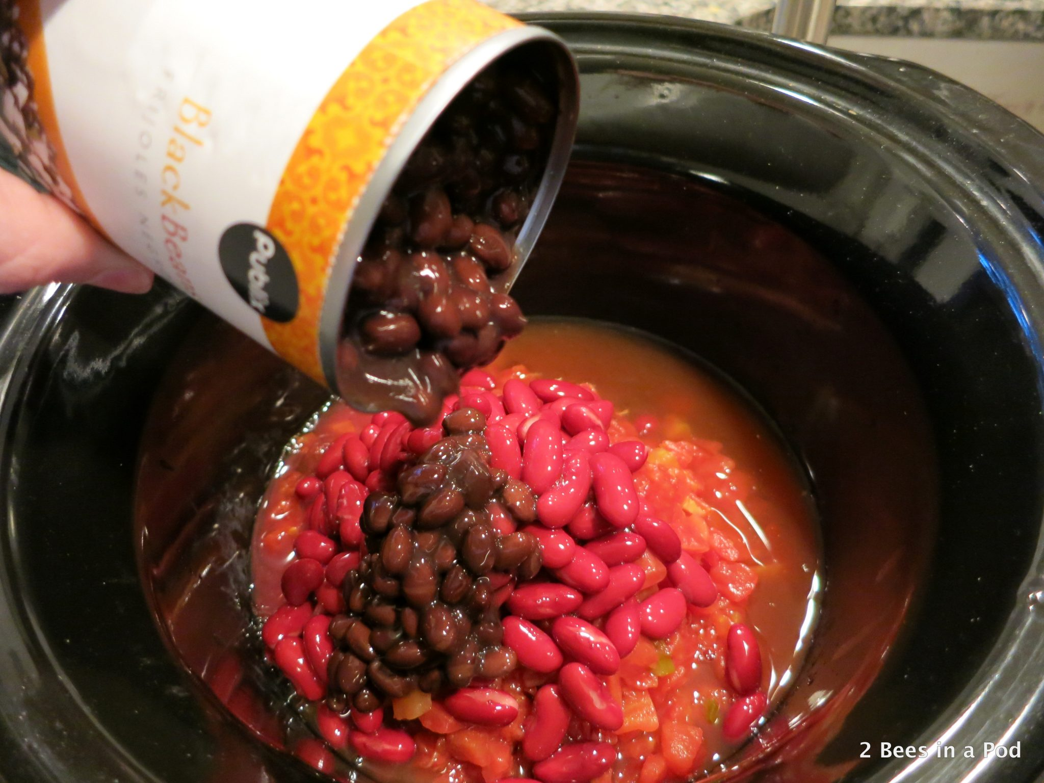 Black Beans for Crock Pot Chicken Taco Chili - Weight Watchers