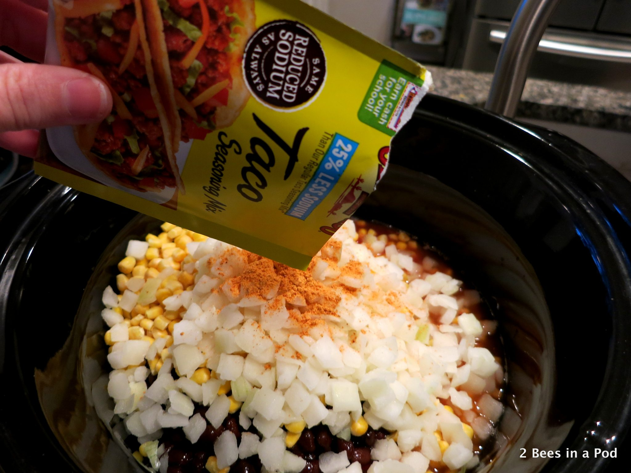 Diced Tomatoes Taco Seasoning for Crock Pot Chicken Taco Chili - Weight Watchers