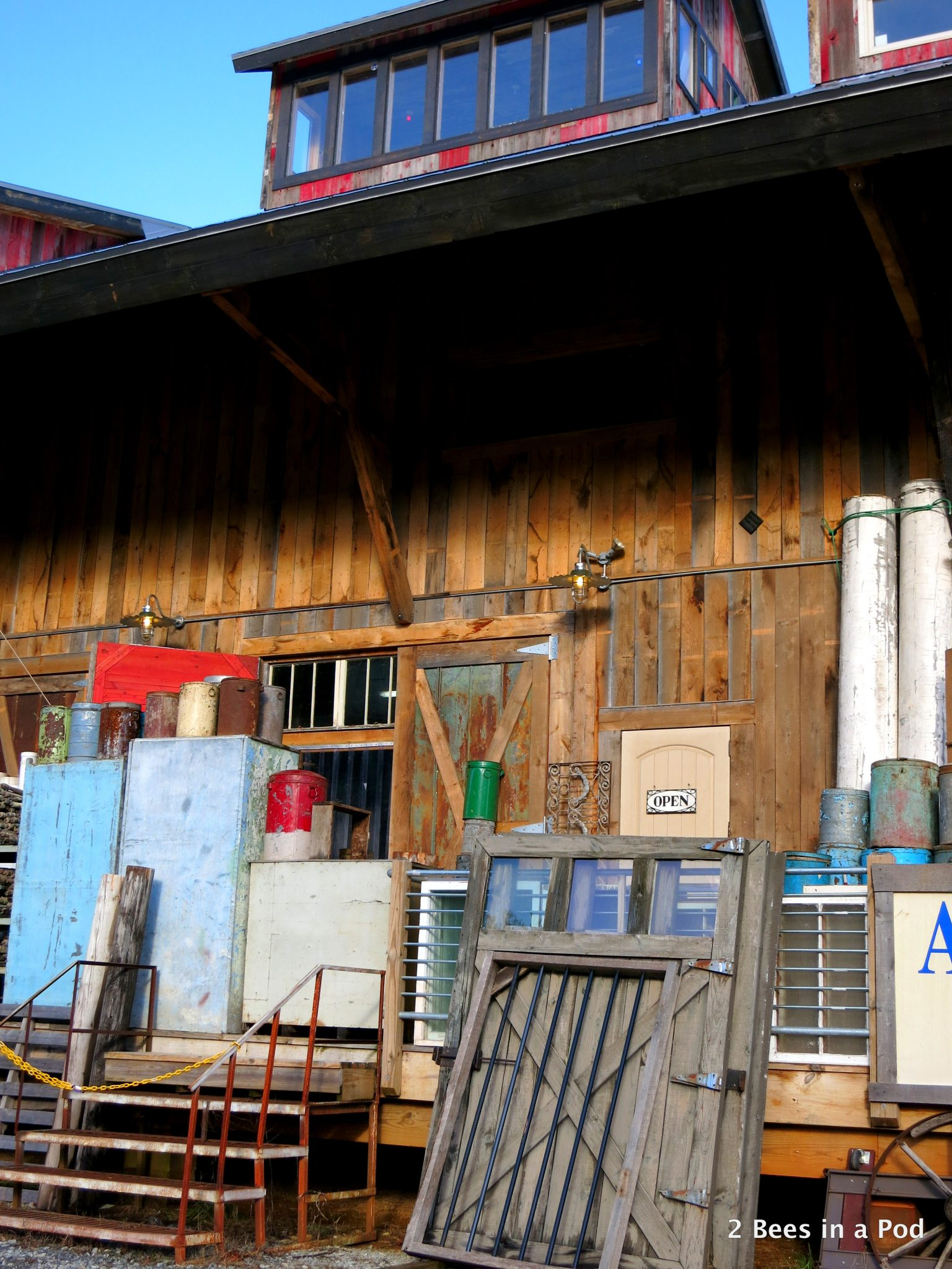 Culpepper's Otto Depot in Otto, NC - architectural salvage