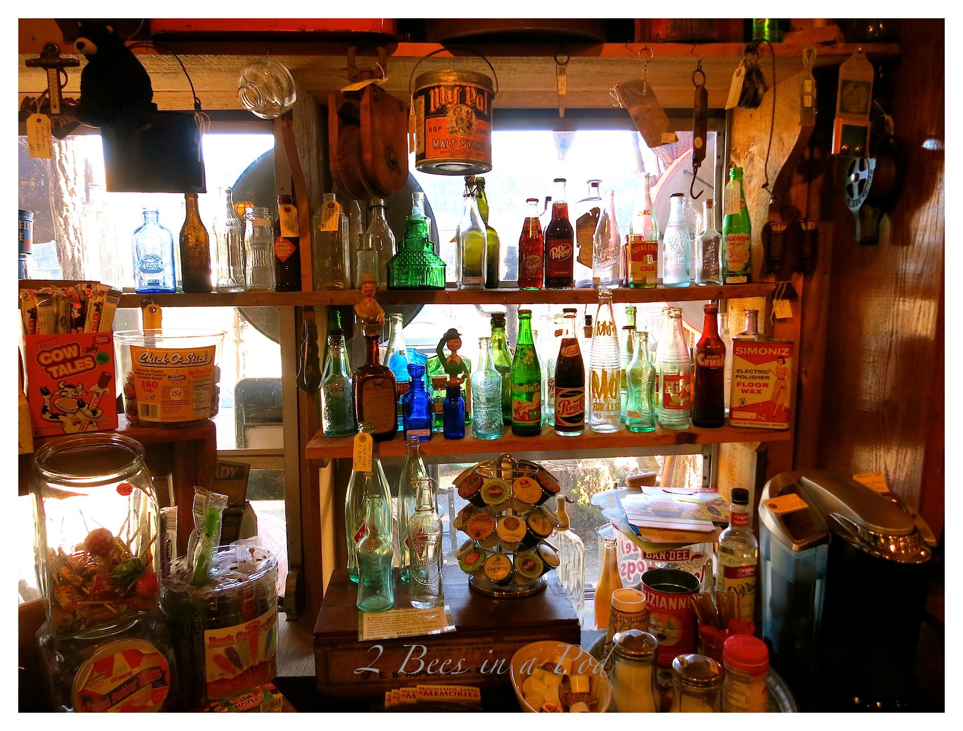 Wonderful antiques and vintage items at Black Bear Creek Antiques in Clayton, Georgia
