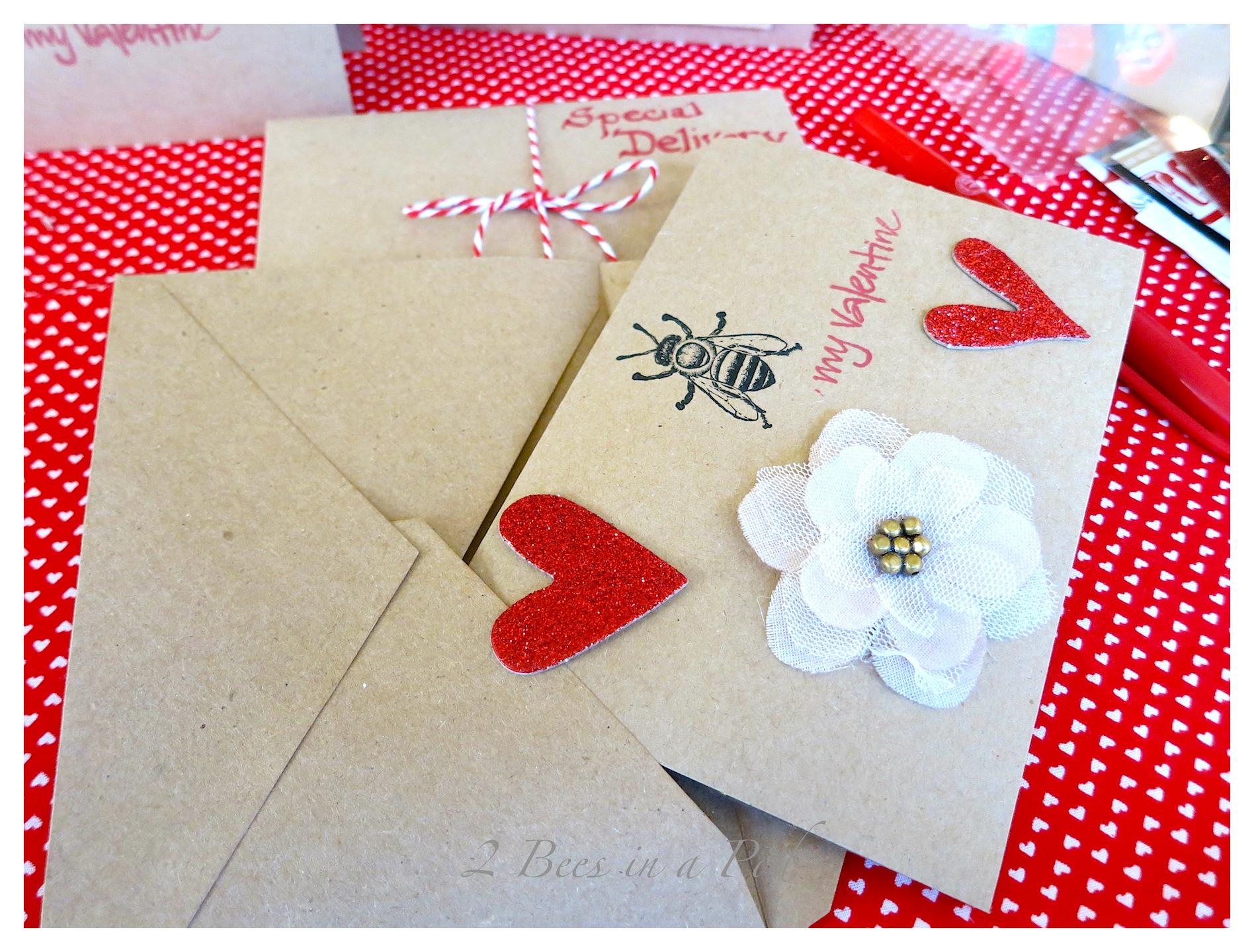 Handmade Valentines…