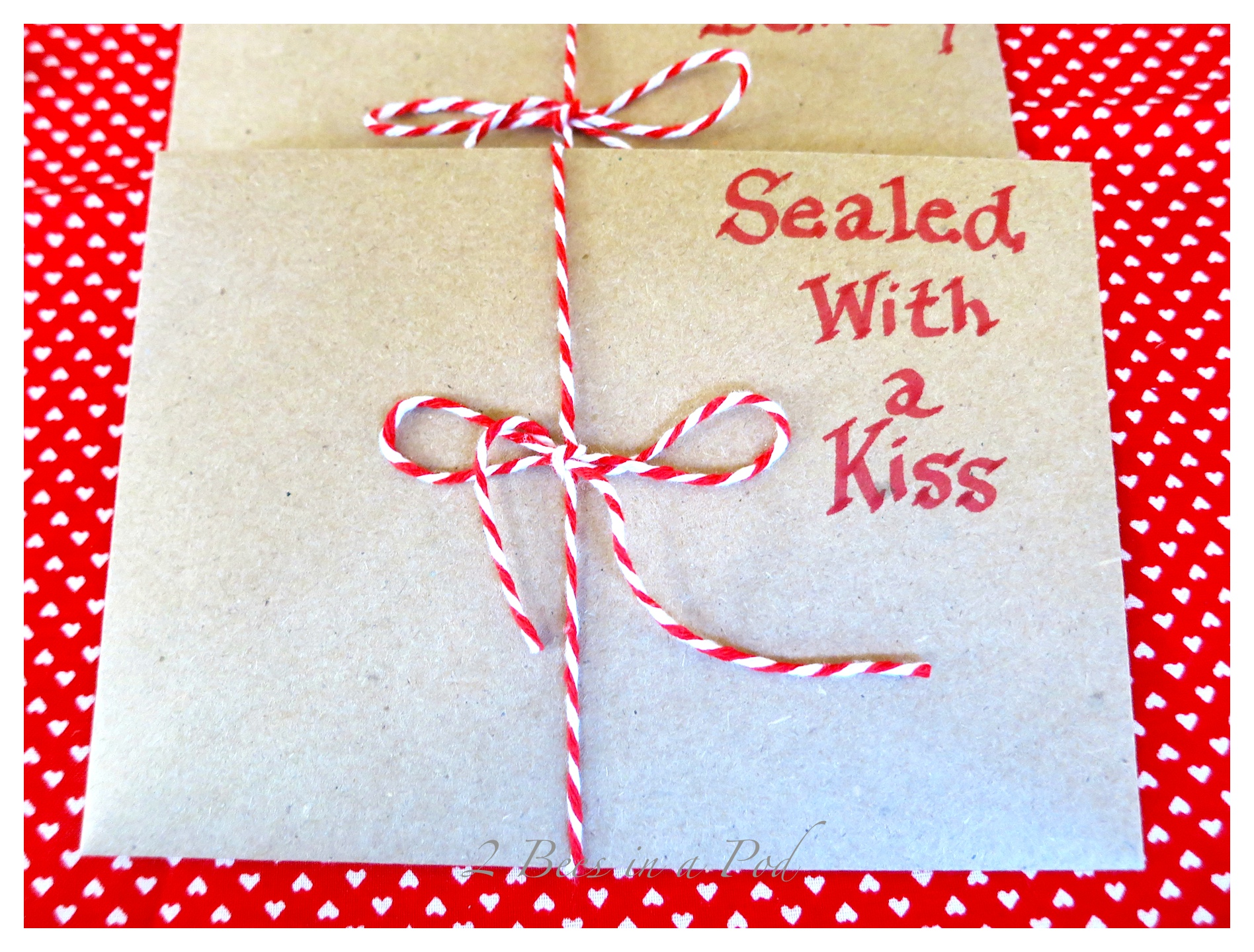 Handmade Valentines - it's fun to play a little and remember when you were a kid making Valentines