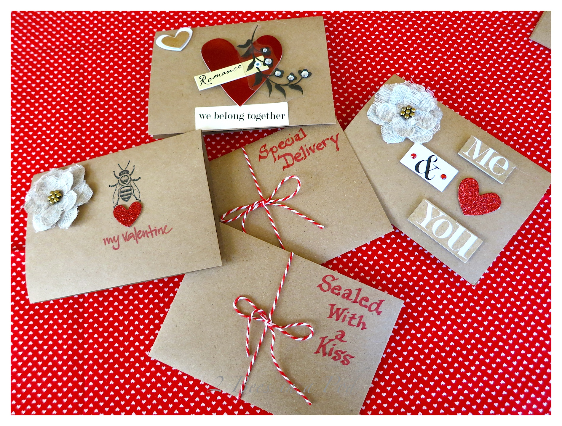 Handmade Valentines   Itu0027s Fun To Play A Little And Remember When You Were  A Kid