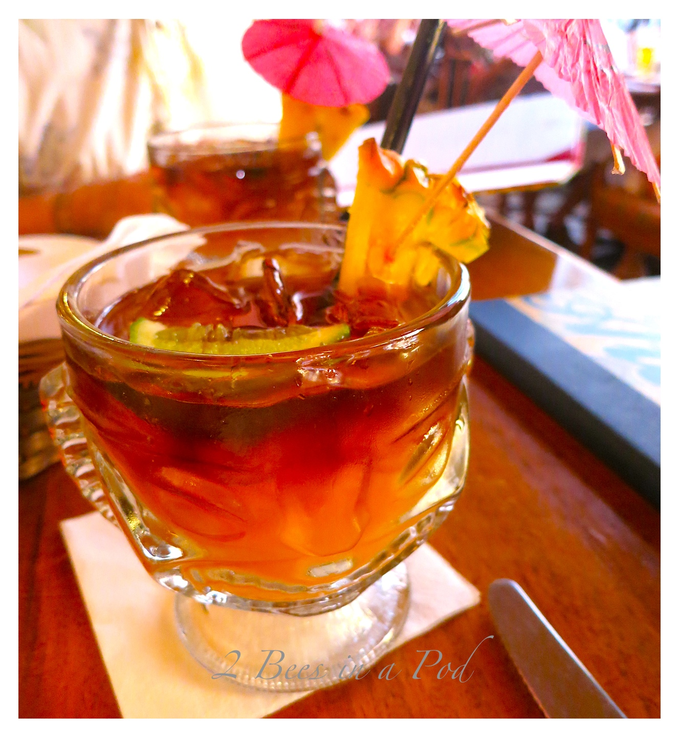 The very first Mai Tai of my life...and not my last :)