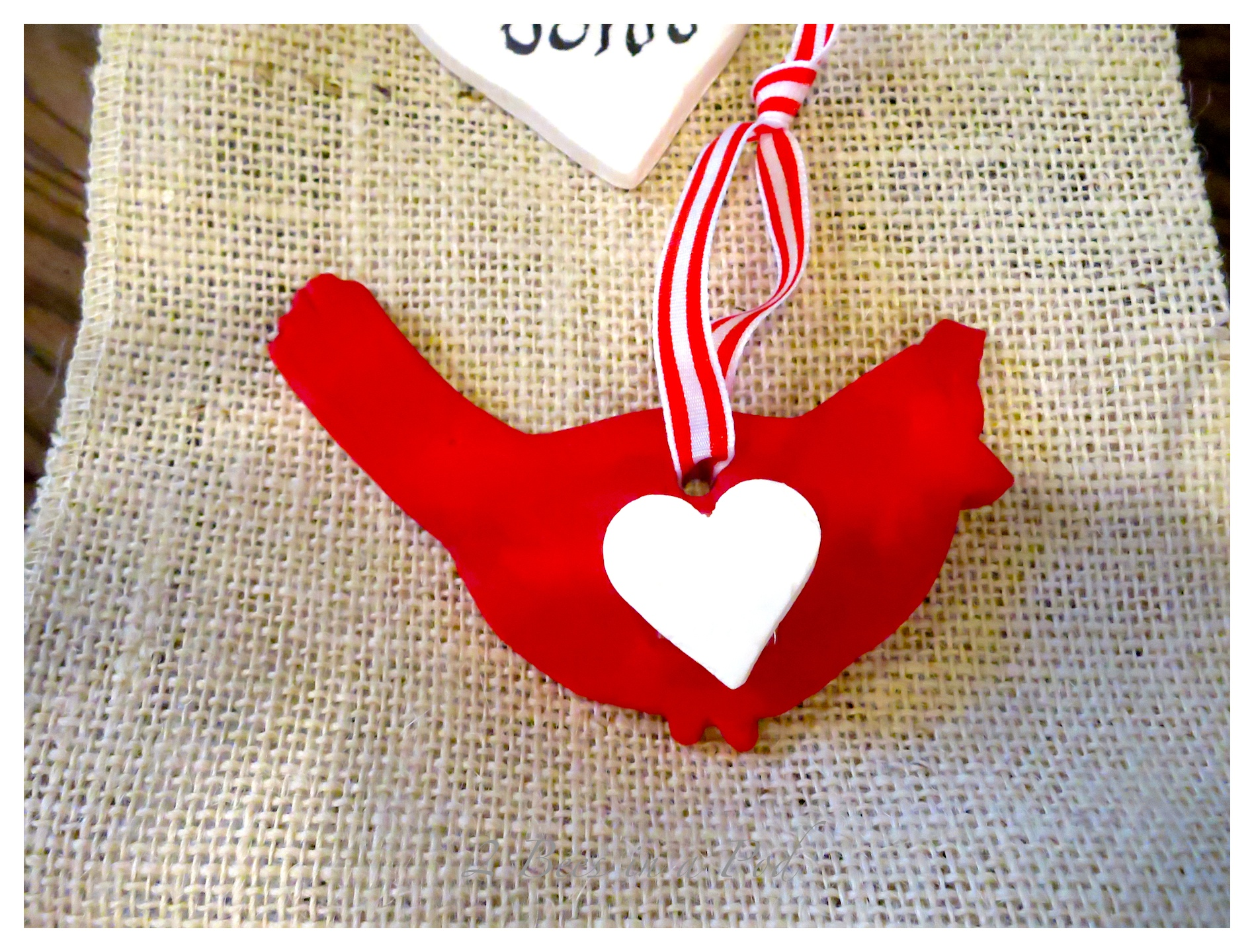 Homemade Clay Gift Tags for Your Valentine…
